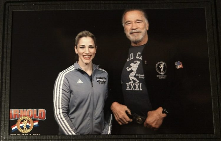 Paige with Arnold PCS 2019